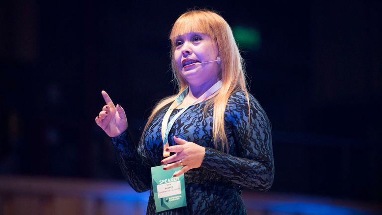 Silvia Flores, creadora de La Juanita
