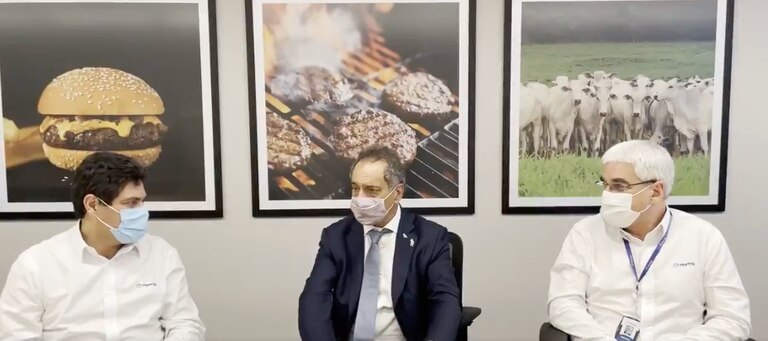 Cepo a la carne: una empresa brasileña le pidió a Scioli por las exportaciones