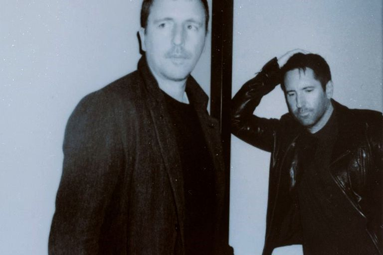 Atticus Ross y Trent Reznor, el lider de Nine Inch Nails