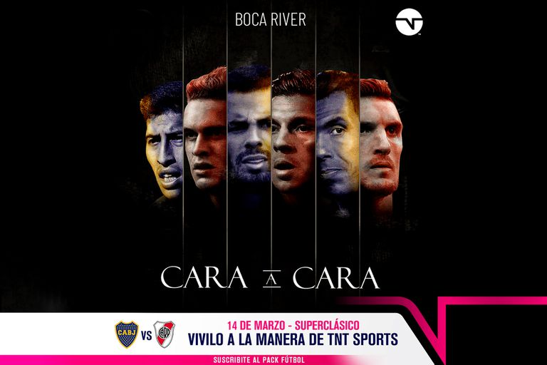Así promociona TNT Sports el Boca-River del domingo.