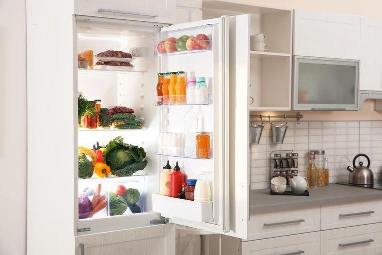 Cada alimento tiene un lugar destinado en la heladera