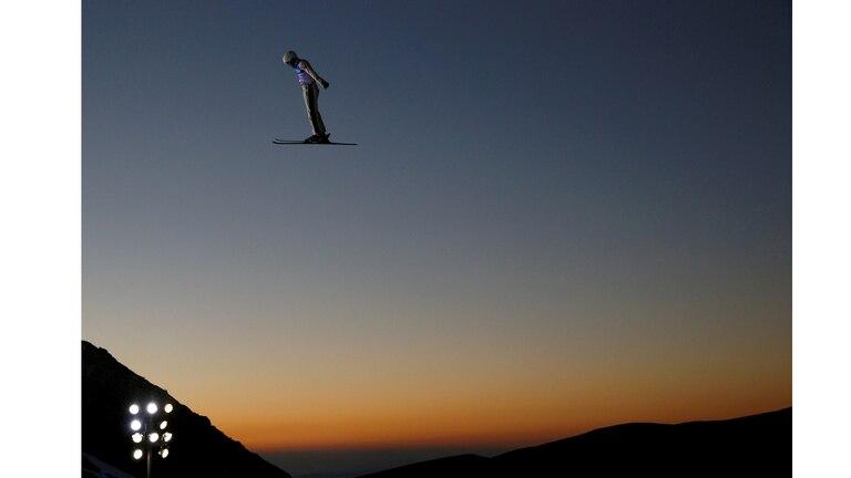 Campeonato Mundial de Snowboarding y Freestyle en Sierra Nevada, España, 9 de marzo