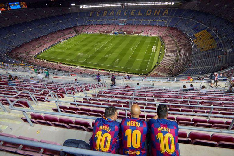 Barcelona debe jugar el desquite de su serie de octavos de final de la Champions contra Napoli, en el Camp Nou