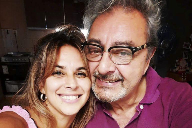 Claudio Rissi habló de su historia de amor con su joven novia, Natalia Ojeda