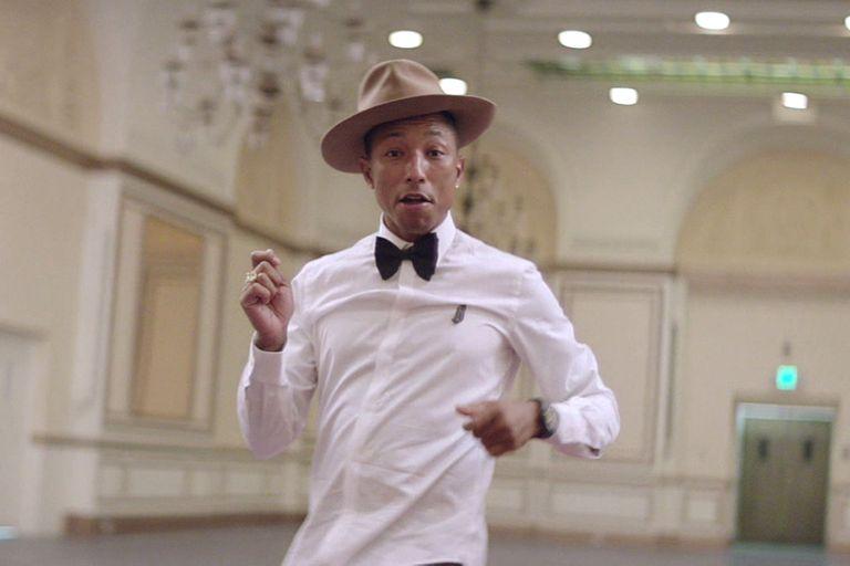 """Pharrell fue el artista más escuchado de 2014 con """"Happy"""""""