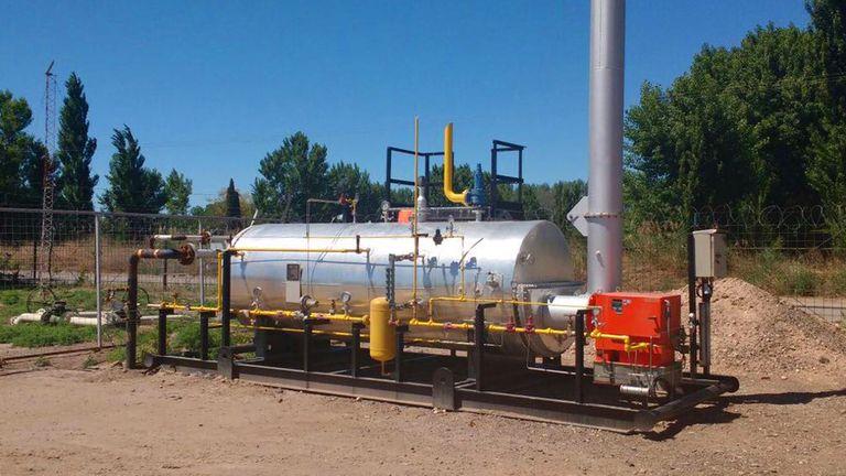 Una amenaza de bomba a un pozo gasífero de YPF