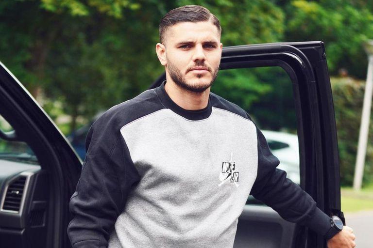 Después del escándalo familiar, Mauro Icardi volvió a los entrenamientos con PSG