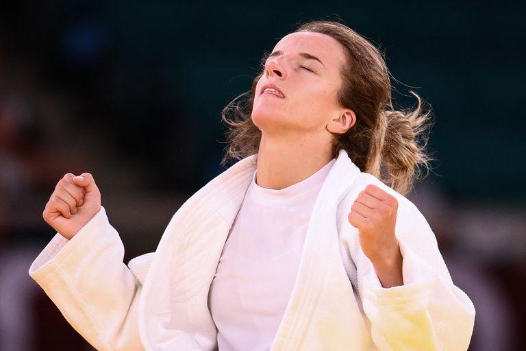 Distria Krasniqi, medallista de oro de Kosovo y leyenda del deporte de su país