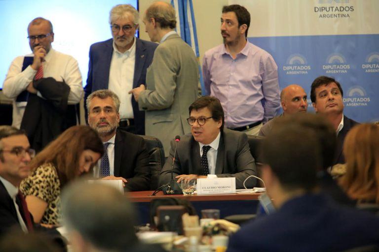 Vanoli y Moroni exponen en las comisiones de asuntos previsionales y presupuesto