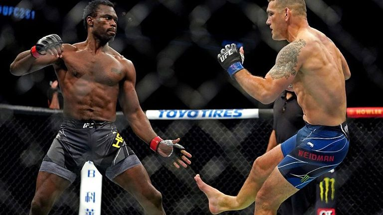 La impactante fractura de pierna de un luchador de la UFC