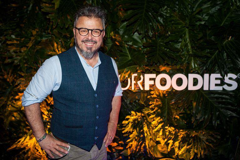 Donato De Santis enseñó a todos cómo desfila un verdadero modelo 'culinario'