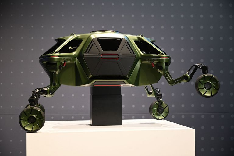 Este es Elevate, el auto todo terreno de Hyundai con piernas robóticas