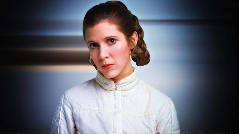 Carrie Fisher brilló en Star Wars y como actriz secundaria de varias comedias