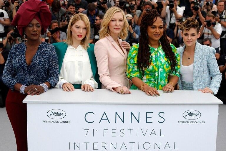 Nin, Seydoux, Blanchett, DuVernay y Stewart: las mujeres son mayoría en el jurado (de un total de nueve integrantes), pero hay apenas tres películas dirigidas por cineastas mujeres en competencia