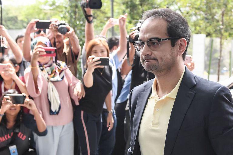 Riza Aziz, fundador de la compañía que produjo la película, está acusado de fraude y lavado de dinero