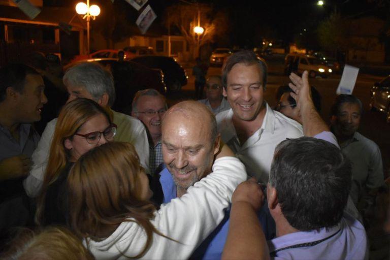 Carlos Vazzana es el nuevo intendente electo de la localidad rionegrina