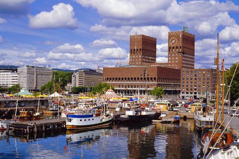 Puerto de Oslo, Noruega