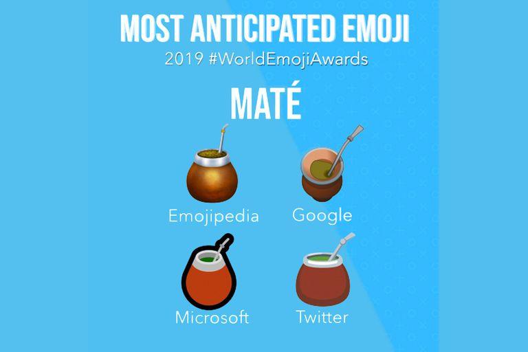 El emoji de la bebida ya está disponible en la versión web de Twitter y en Windows 10, y se espera que llegue al resto de los dispositivos y apps antes de fin de año