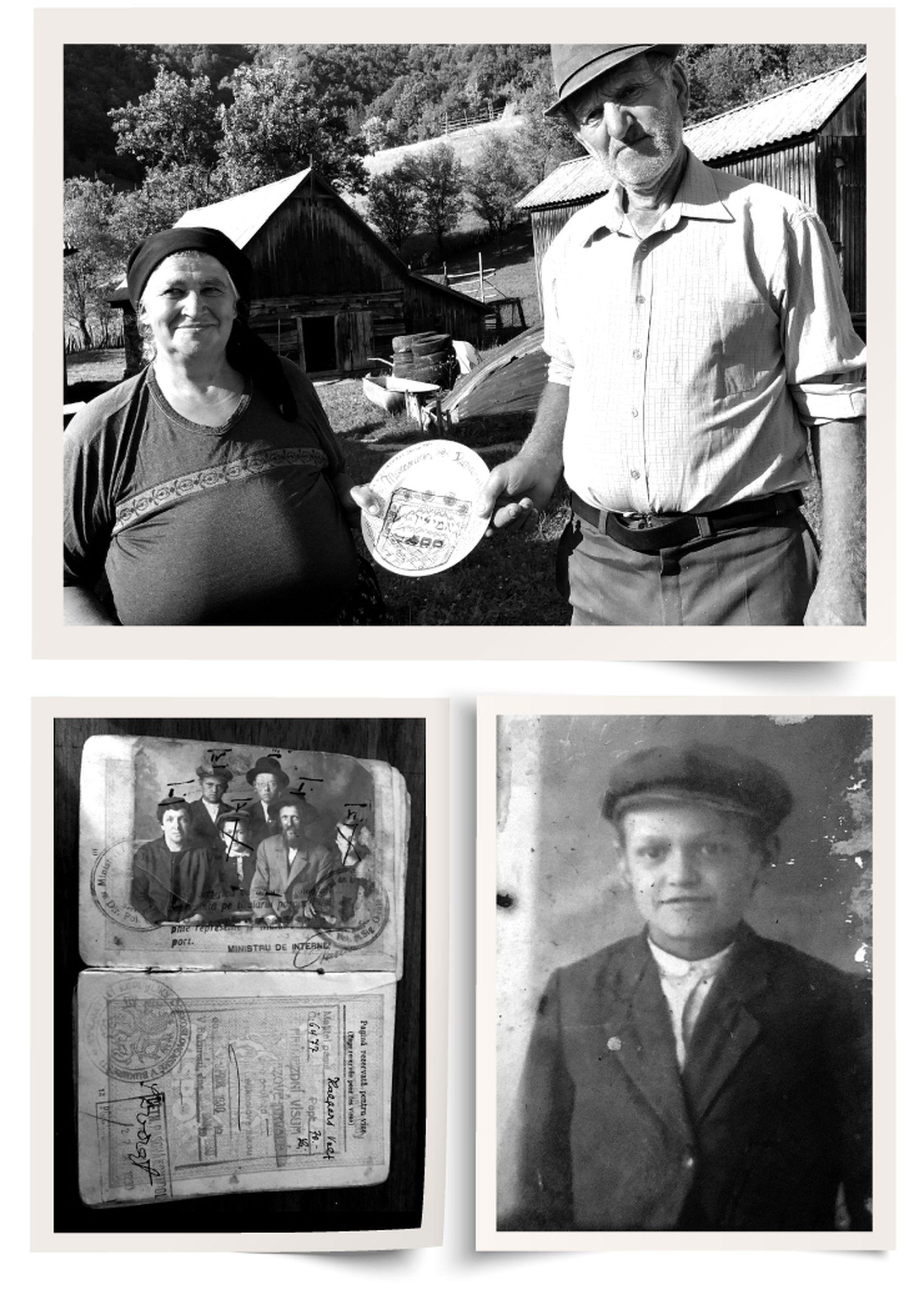Con la ayuda de Dan, Yamila Rottbart, una joven de 33 años de Villa Urquiza, le hizo un homenaje a su abuelo en julio de 2019 en los Cárpatos del norte de Rumania.