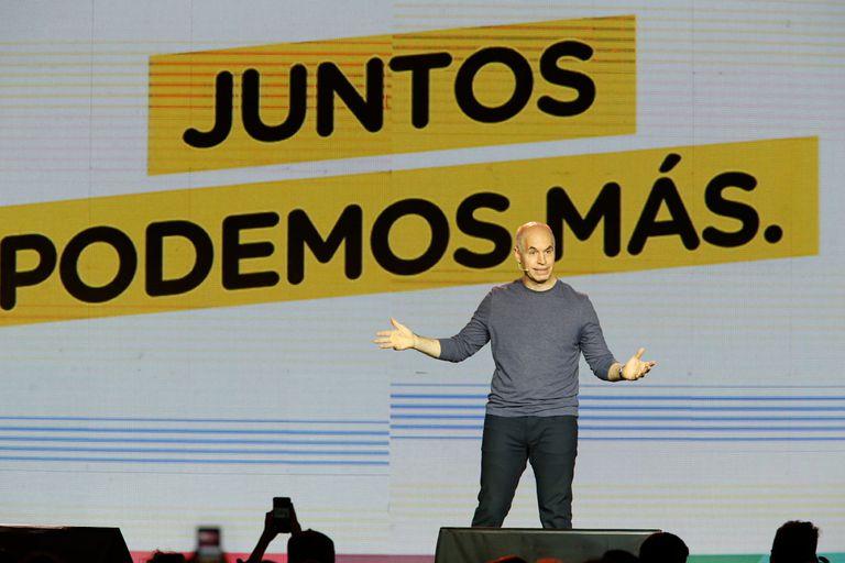 El nuevo nombre de la alianza opositora había sido propuesto por el jefe de Gobierno porteño, Horacio Rodríguez Larreta.