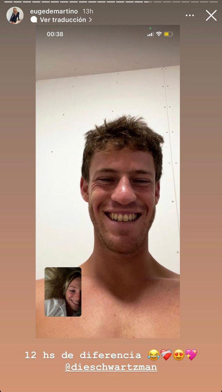 La videollamada del Peque con su novia desde Tokyo