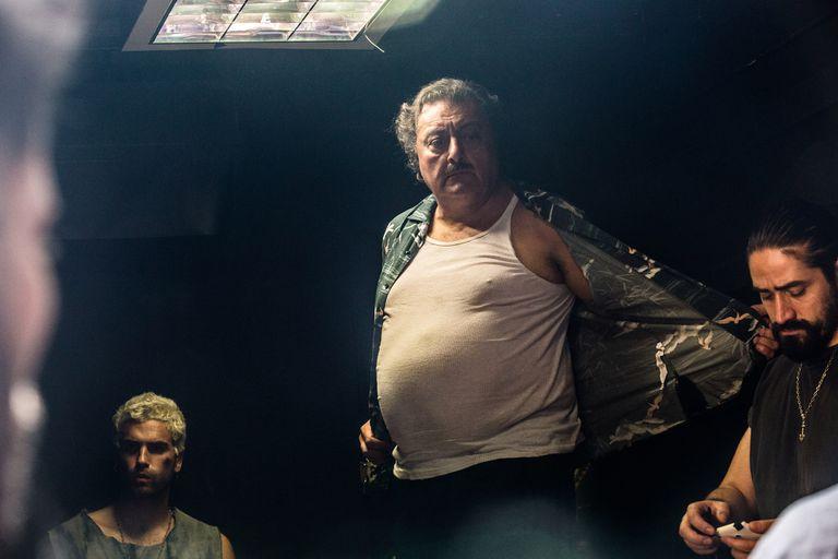 Nicolás Furtado y Claudio Rissi en la piel de los hermanos Borges, en su camino de convertirse en dueño y señor del penal