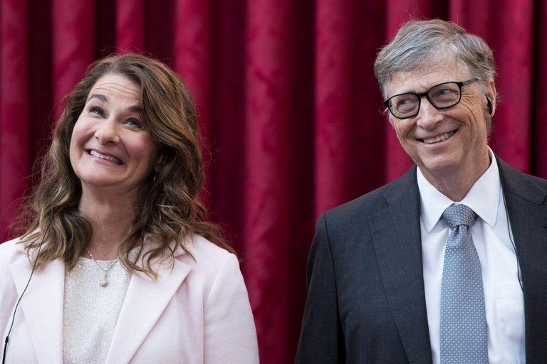 Melinda y Bill Gates en 2018