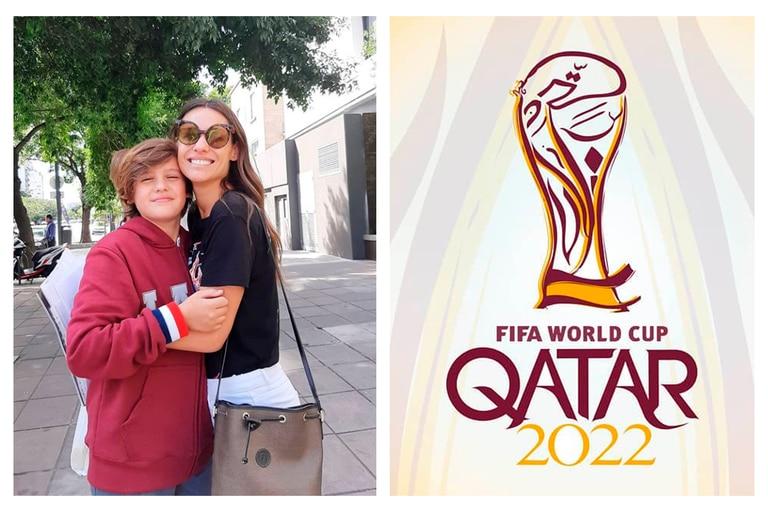 Pampita Ardohain reveló la promesa que le hizo a su hijo Bautista en caso que Argentina clasifique a Qatar 2022