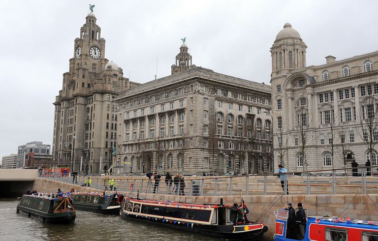 Liverpool fue incluida en la lista del Patrimonio Mundial en 2004