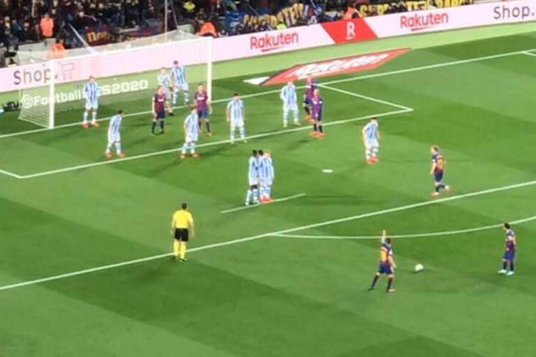 Cómo defenderse de un tiro libre de Messi y el terrible planchazo del 10