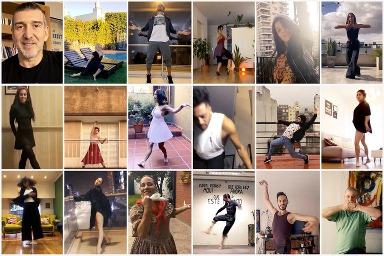 """Bailarines argentinos unidos en un mensaje: """"Seguimos volando,volvemos bailando"""""""