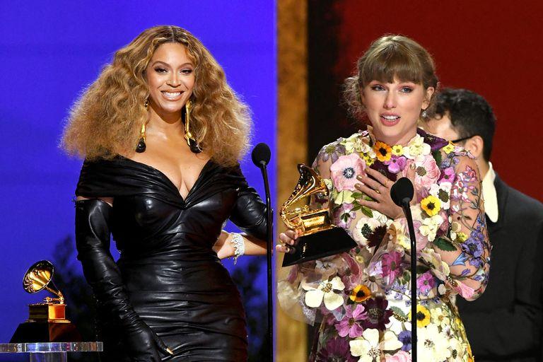 Grammy 2021: Beyoncé y Taylor Swift hacen historia en los premios