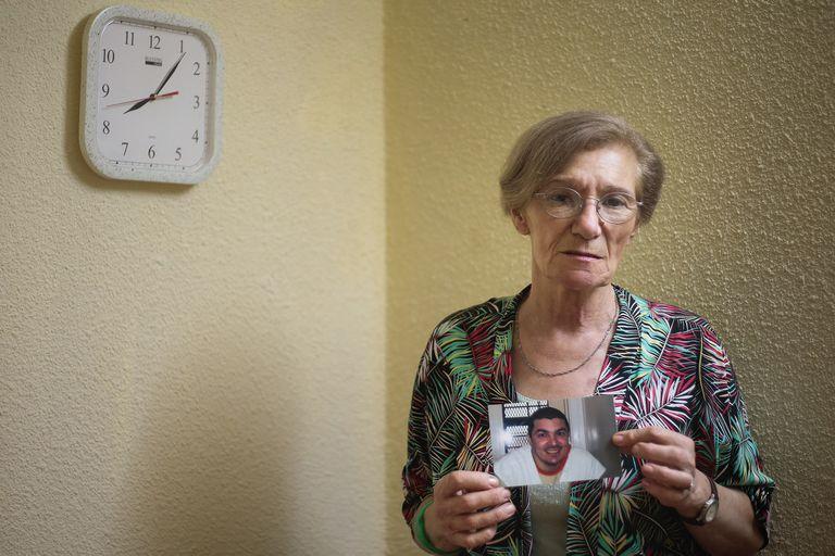 Lidia Guerrero, madre de Víctor Hugo Saldaño, el cordobés condenado a la pena de muerte en Texas, Estados Unidos, en su casa de Barrio del SEP, Córdoba