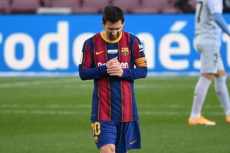 Lionel Messi piensa qué va a ser de su futuro