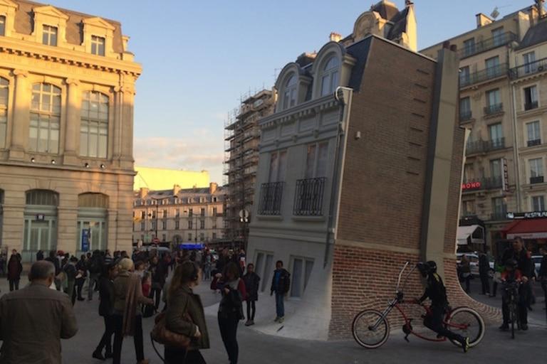 La Maison Fond, presentada por Erlich en París en 2015, justo antes de la conferencia mundial sobre cambio climático