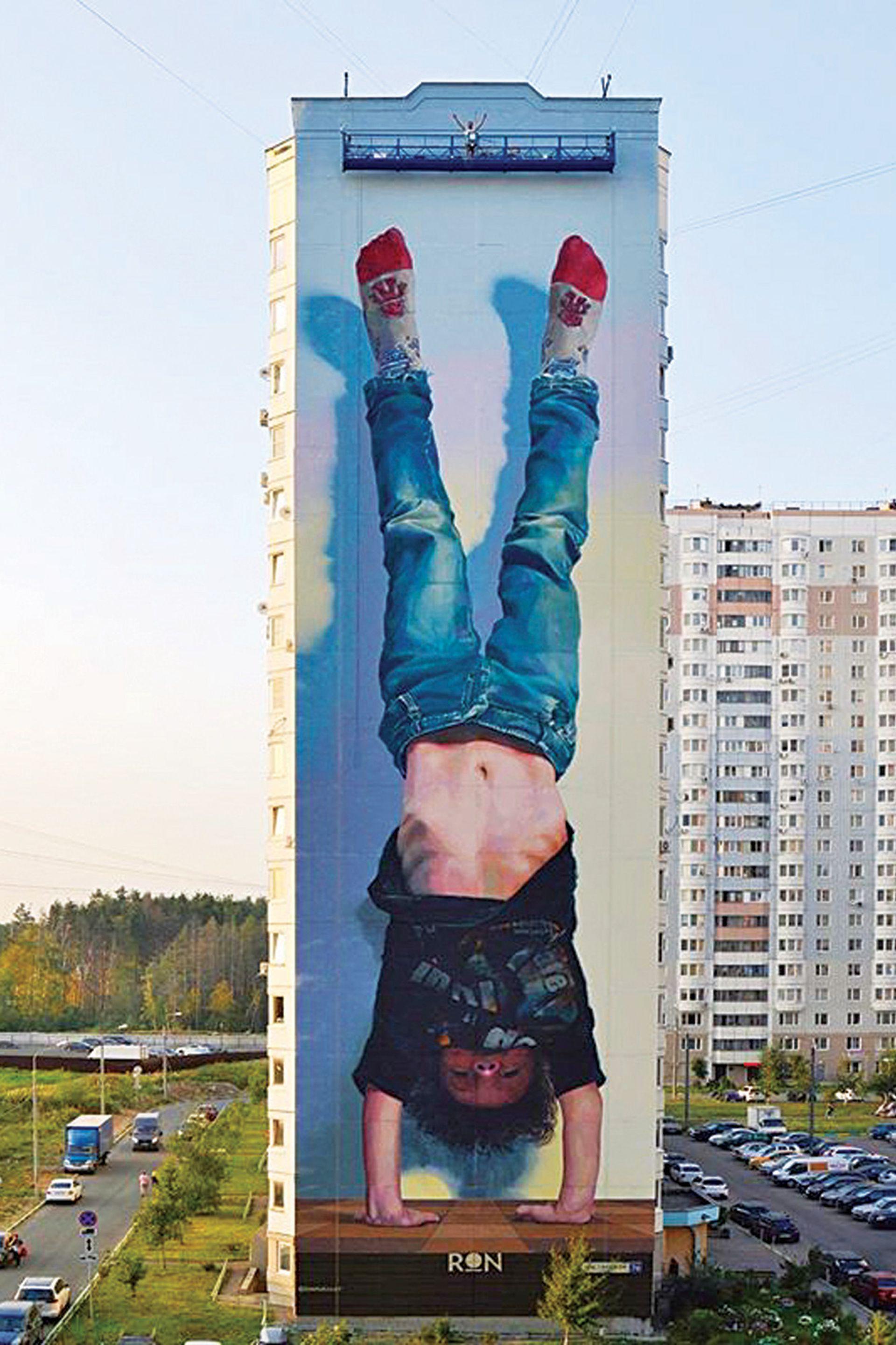 Una de sus obras gigantes en Moscú