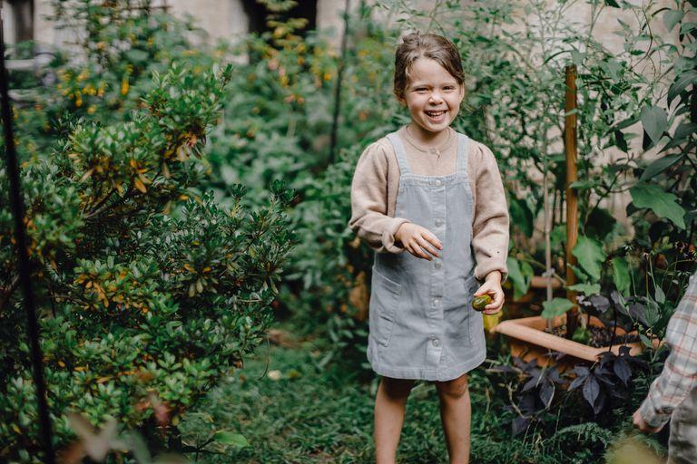 En el jardín. Actividades para que los chicos jueguen, aprendan y se diviertan