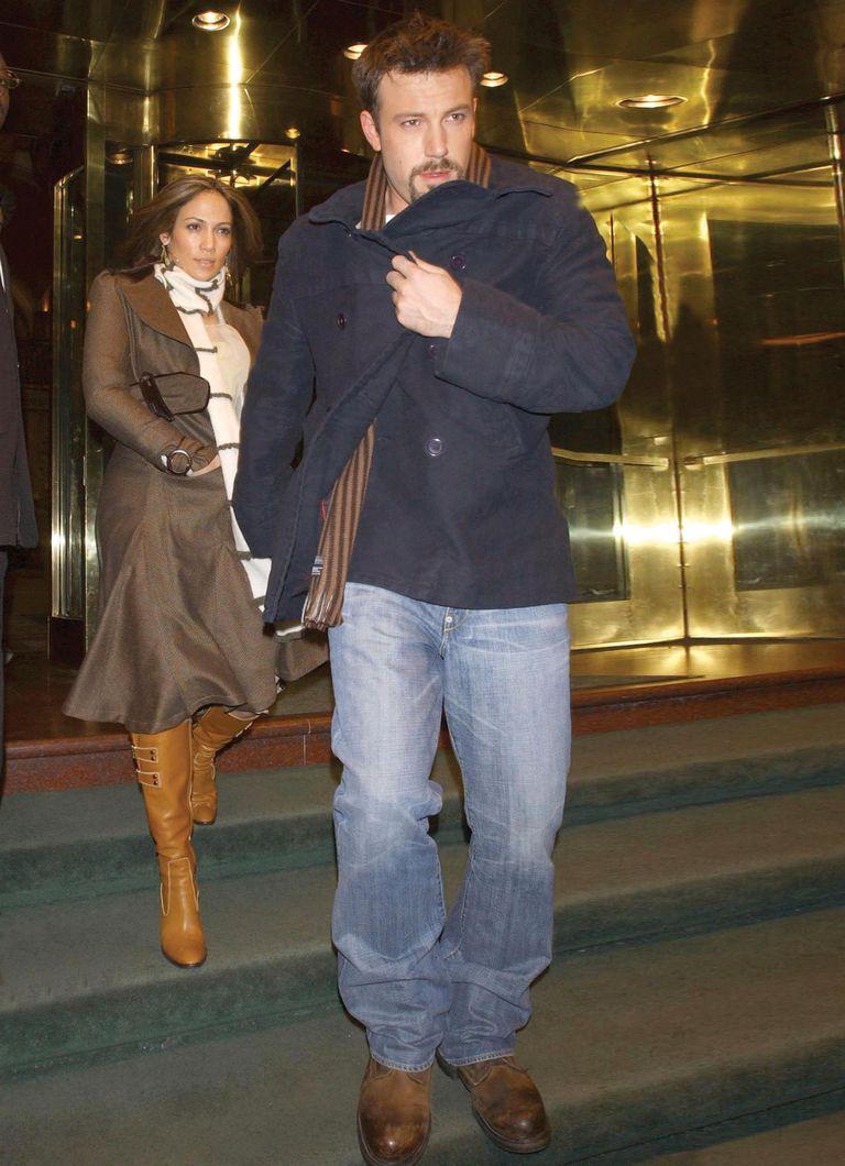 Semanas antes de anunciar su ruptura, Affleck y López fueron captados saliendo de un hotel en Nueva York.
