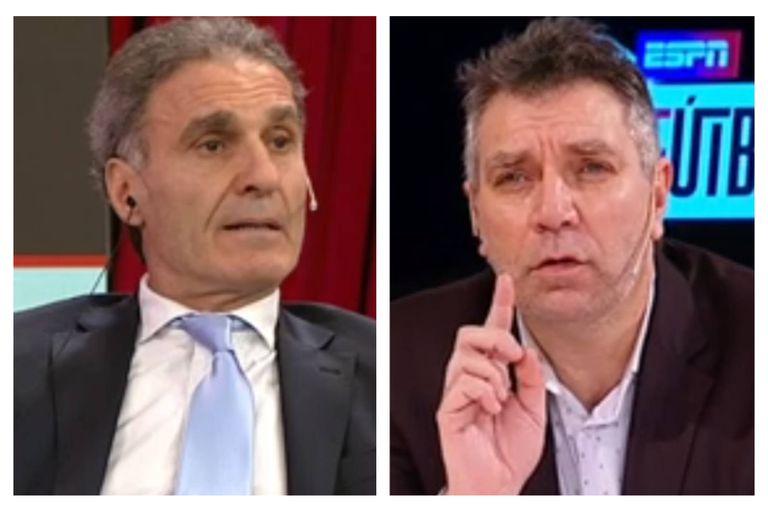 Oscar Ruggeri increpó a Leonardo Gentili por sus críticas a Marcelo Gallardo