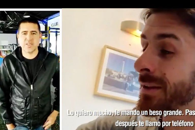 Video: Pablo Aimar reveló cómo se apodan mutuamente Riquelme y él