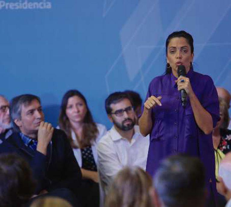 Luana Volnovich, directora ejecutiva del PAMI, no abandona la militancia territorial en su distrito, Berazategui, donde gobierna Juan José Mussi