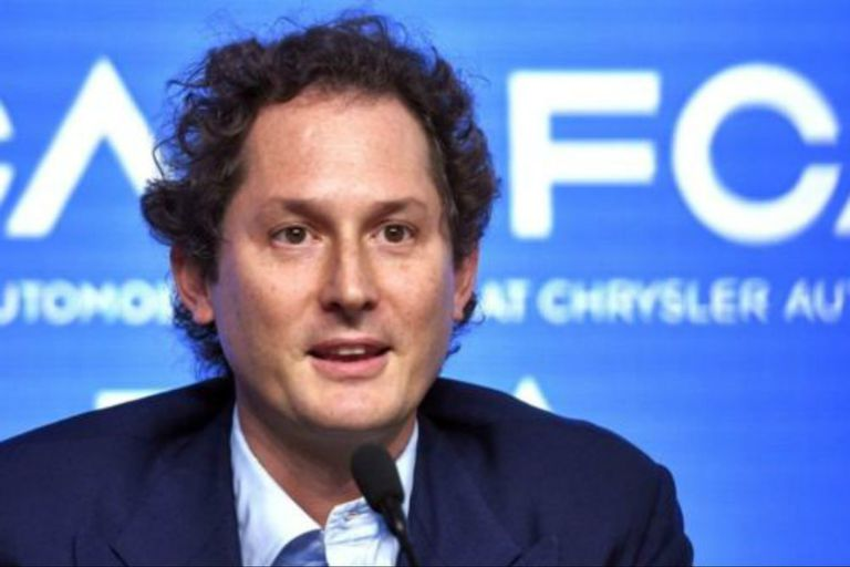 John Elkann es el director de Fiat y del grupo Exor