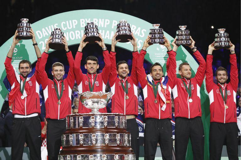 Croacia venció a Francia y es el nuevo campeón de la Copa Davis