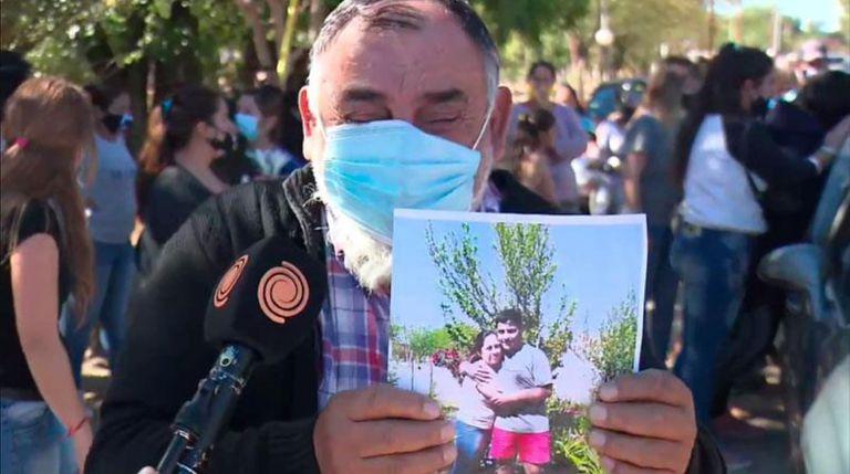 El dolor de Manuel Paredes, el tío abuelo de Joaquín Paredes, el chico de 15 años asesinado por policías en Paso Viejo, Cruz del Eje