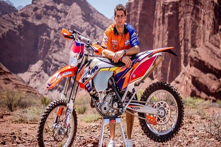 Dakar: el argentino Benavídes, segundo en el comienzo de la categoría de motos