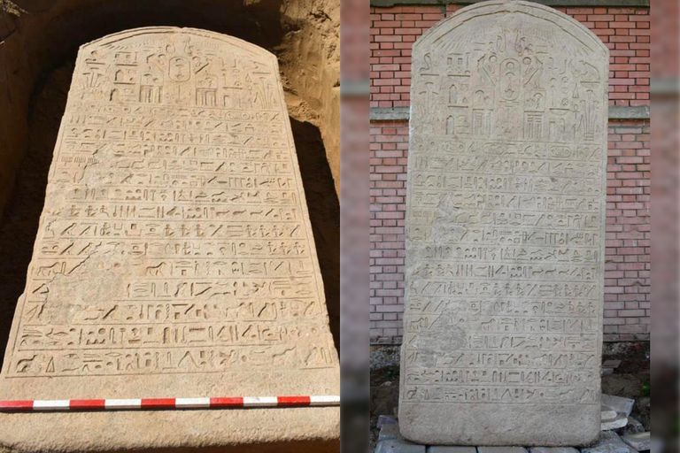 Un agricultor descubrió una antigua piedra tallada de más de 2500 años de antigüedad
