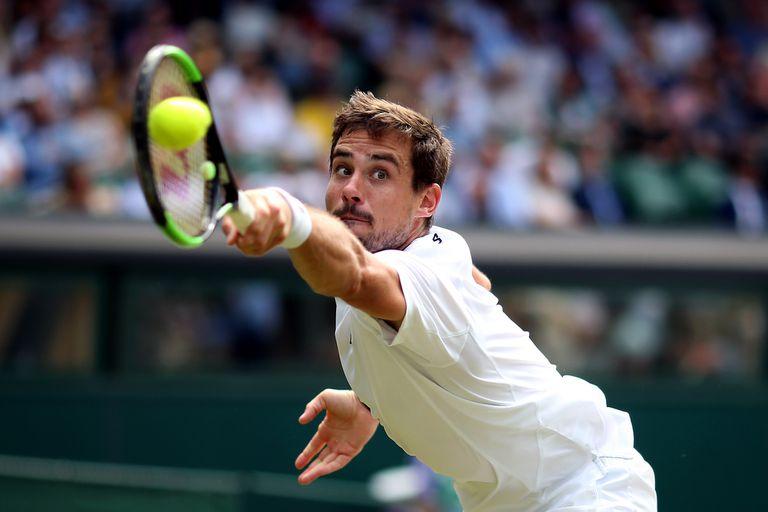 Un punto de Pella ante Anderson que lo encaminó hacia la victoria rumbo a octavos de final de Wimbledon 2019; en ese certamen llegaría hasta los cuartos de final