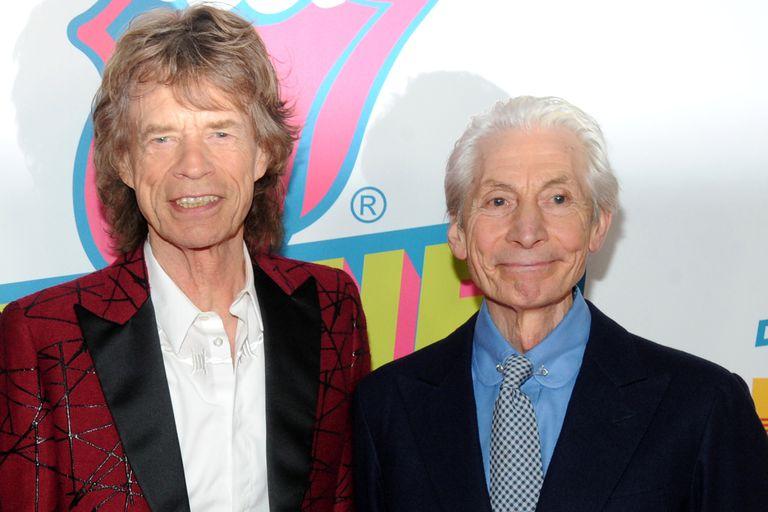 """""""Nunca se sentía perturbado. Era una persona muy confiable, no era una diva, eso es lo último que querés en un baterista"""", dijo Mick Jagger sobre Charlie Watts"""