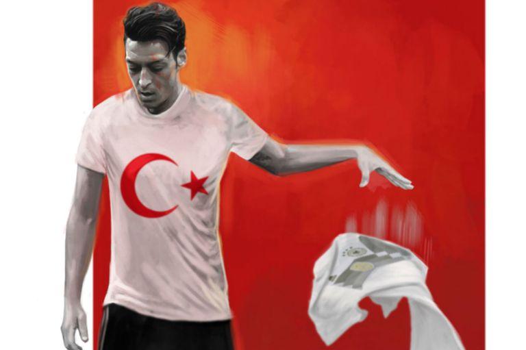 Mesut Özil, la cabeza de turco alemana