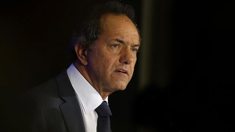 Daniel Scioli recibió en febrero unos $ 299.000 por su mandato como vicepresidente
